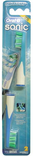 Braun Oral-B Sonic Complete Brush Head (Twin Pack)