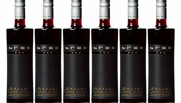 Bree IGP French Merlot Red Wine 6x 75 cl Bottles product image