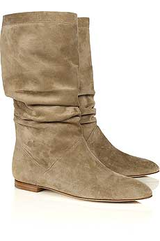 Brian Atwood Ontario suede slouchy boots