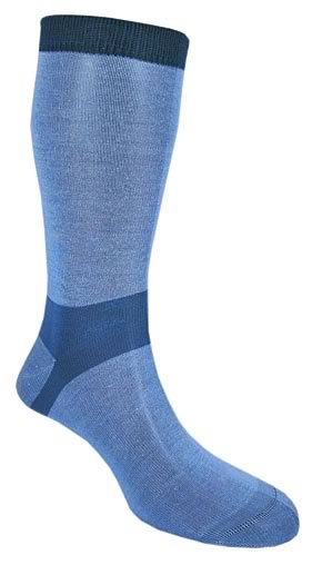 Bridgedale Ladies 2 Pair Bridgedale Coolmax Liners For Extra Comfort And Dryness Next To Skin In 3 Colours Sky