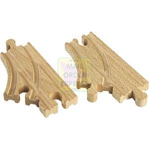 BRIO Short Curved Switch Track