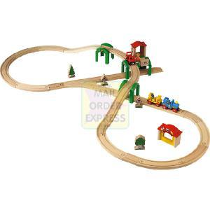 BRIO Track and Stack City Set