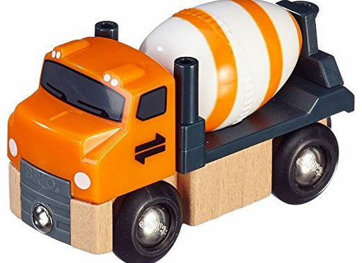Brio Wooden Railway - Cement Truck