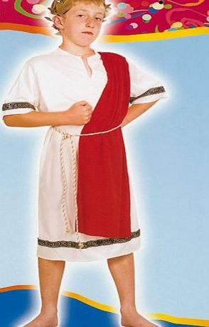 Bristol Novelties Childrens Roman Emperor fancy Dress Costume- Medium