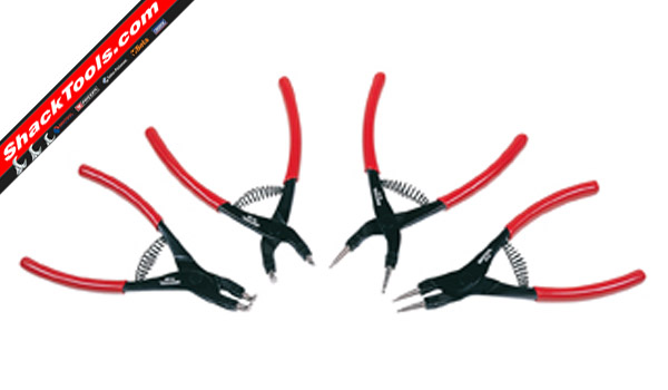 britool PCS3 4 Piece Circlip Plier Set 100mm max product image