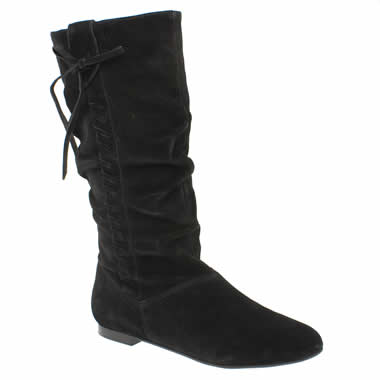 Bronx Karmel Slouch Whipstitch Boot