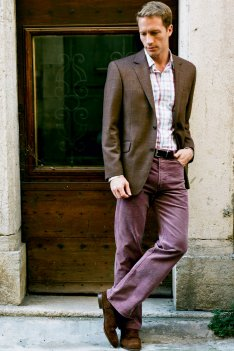 Brook Taverner Helston 5 Pocket Corduroy Trouser product image