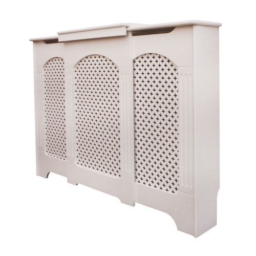 Adjustable Radiator Cabinet/Cover - White - Small/Medium