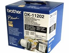 DK-11202 White Shipping Labels 62mm x