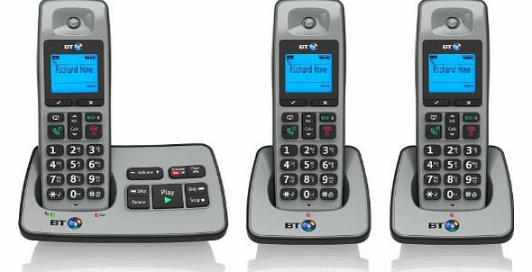 2500 Cordless DECT Phone with Answer Machine (Pack of 3)