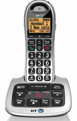 4500 Cordless Big Button Phone with Answer Machine and Nuisance Call Blocker