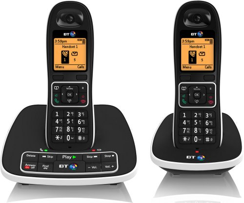 7600 Cordless DECT Phone with Answer Machine and Nuisance Call Blocker (Pack of 2)