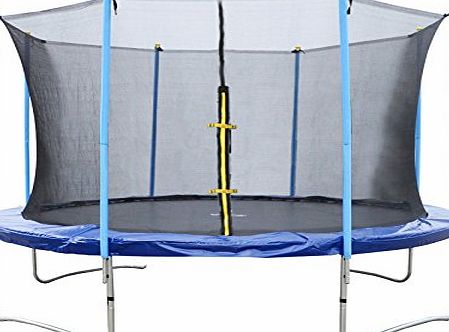 BTM Sports Trampoline with Safety Net Enclosure 6 Foot 8 Foot 10 Foot 12 Foot 14 Foot (10 Foot-I)