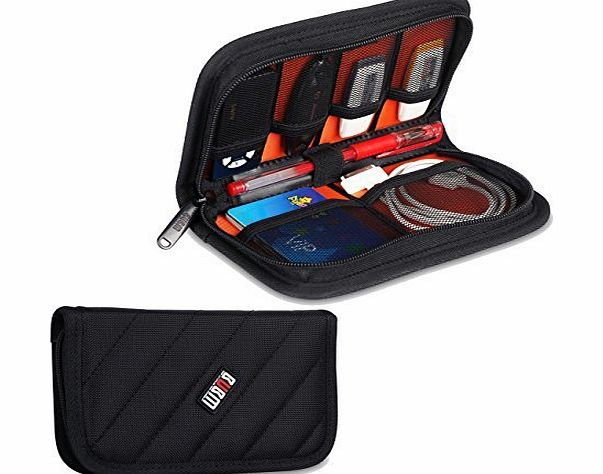 BUBM Damai Universal Electronics Accessories Case / USB Drive Shuttle / Cable Organiser Bag (Black) product image