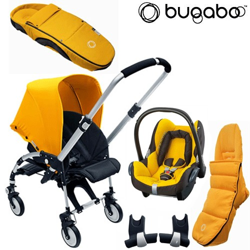 bugaboo bee package 2 pushchair cabriofix car seat review compare prices buy online. Black Bedroom Furniture Sets. Home Design Ideas
