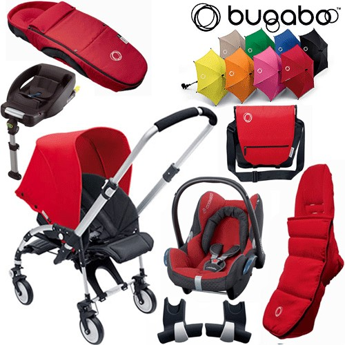 bugaboo bee package 4 pushchair cabriofix car seat review compare prices buy online. Black Bedroom Furniture Sets. Home Design Ideas