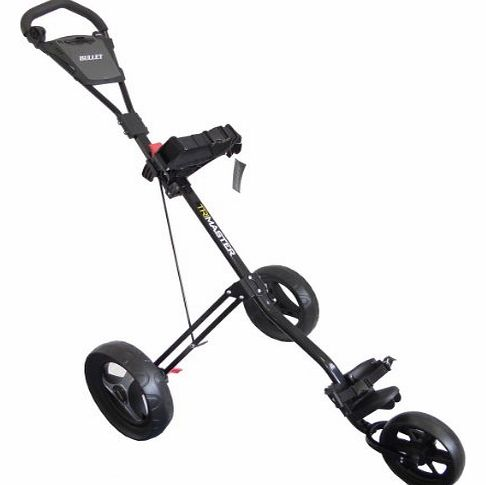 TRI MASTER DELUXE 3 WHEEL GOLF TROLLEY