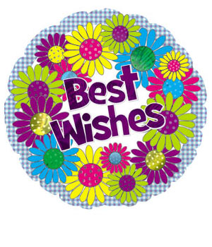 Bunches Best Wishes Balloon