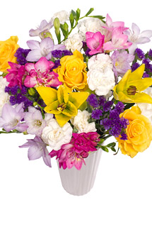 Bunches Carnival Bouquet