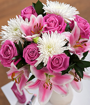Bunches.co.uk Chelsea Pink SDCHEL