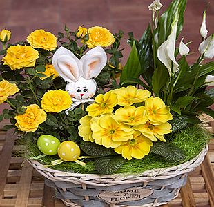 Bunches.co.uk Easter Flower Basket PHEFB