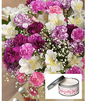 Bunches.co.uk Especially For You Candle Gift FEFYCG