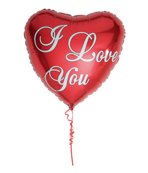 Bunches.co.uk I Love You Balloon
