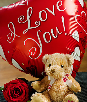 Bunches.co.uk I Love You Gift SDBLYG