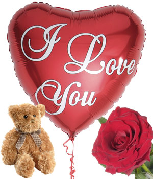 Bunches.co.uk I Love You Gift product image
