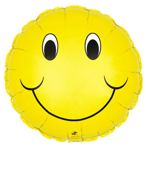 Bunches.co.uk Smiley Surprise Balloon