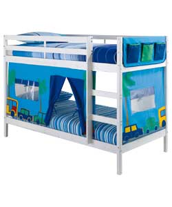 Pink Bunk Beds For Kids Pink Bunk Beds With Desk Multidao Pictures to ...