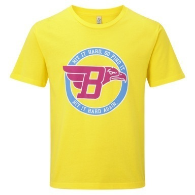 Bunker Mentality Eagle T-Shirt Yellow product image