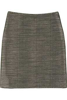 Burberry Metallic mini skirt product image