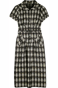 Checked cap sleeve dress - CLICK FOR MORE INFORMATION