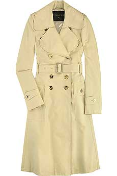Curved Lapel Trench - CLICK FOR MORE INFORMATION