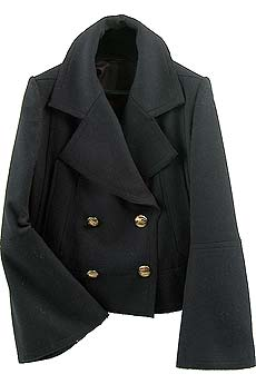 Double-breasted cropped jacket - CLICK FOR MORE INFORMATION