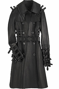 Leather trench coat - CLICK FOR MORE INFORMATION