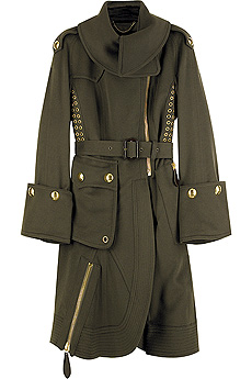 Military wool coat - CLICK FOR MORE INFORMATION