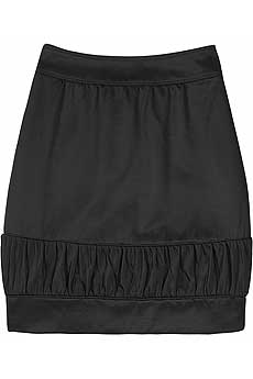 Burberry Prorsum Satin mini skirt product image