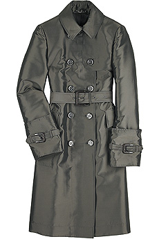 Silk taffeta trench coat - CLICK FOR MORE INFORMATION