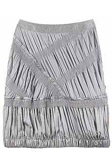 Smocked satin skirt - CLICK FOR MORE INFORMATION
