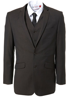 Burton Brown Tonic Slim Fit Suit Jacket