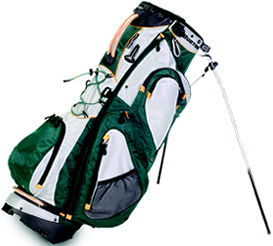 Burton Golf Alpine Stand Bag Green/Silver
