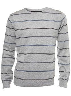 Burton Grey Stripe Jumper