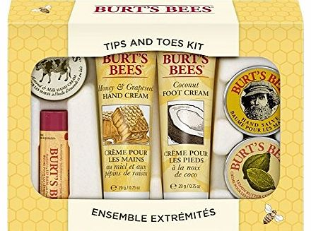 Burts Bees Tips and Toes Hands and Feet Kit