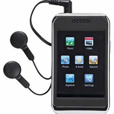 Bush 8GB 2.8 Inch MP3 Player with Video - Black