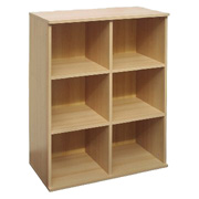 Bush Connect 6-Cube Bookcase product image