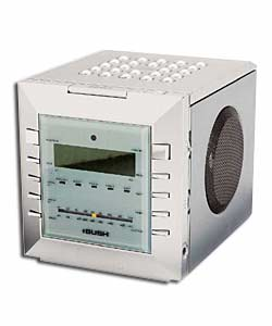 bush cr608 cd clock radio review compare prices buy online. Black Bedroom Furniture Sets. Home Design Ideas
