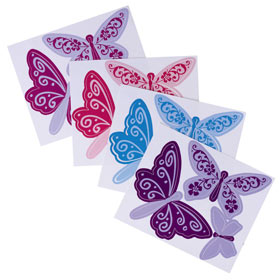 Butterfly Wall Art Stickers (Set of 12) product image