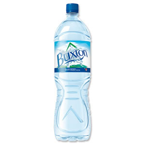 Buxton Natural Mineral Water Bottle Plastic 1.5